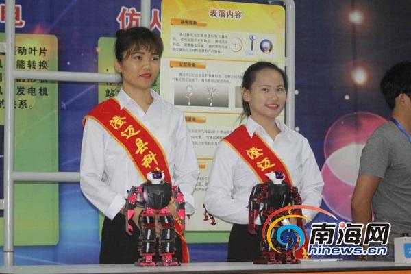 中国流动科技馆海南巡展澄迈站启动共设8个主题展区