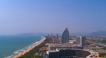 独家航拍| 国家海岸――大美三亚海棠湾