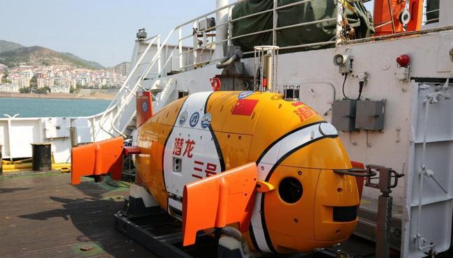 中国最先进自主潜水器创深海航程最远纪录