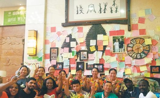 海南周刊| 琼海博鳌书社团队环岛骑行14天传递书香