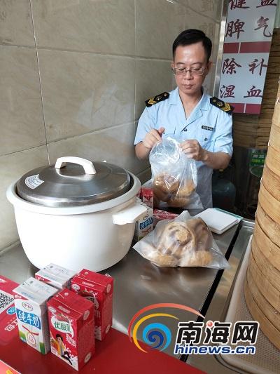 海口琼山柳老洲红糖馒头店涉嫌使用甜蜜素 食药监介入调查
