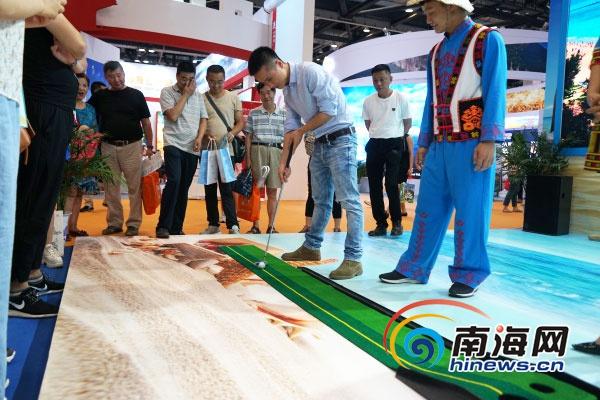 北京国际旅游博览会海南展区购物游、主题乐园游受关注