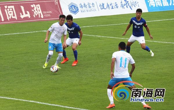 中乙第十二轮:海南海口主场0比0云南飞虎