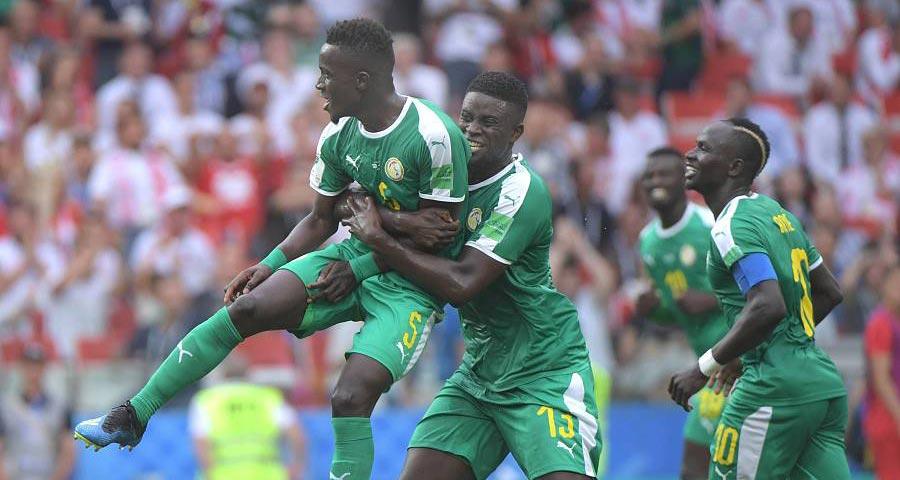 塞内加尔2比1胜波兰 非洲球队本届比赛首胜
