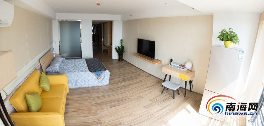 高清组图|长租公寓现身海口探访海航地产首个长租公寓项目