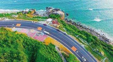 海南环岛旅游公路什么样?全线约1/5能看海
