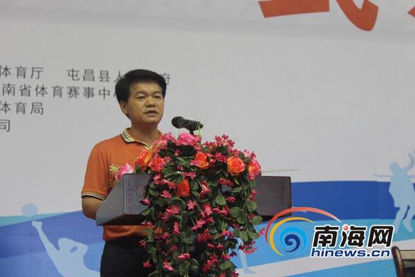 海南省第五届运动会群众比赛武术决赛在屯昌开
