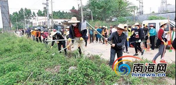 儋州社会文明大行动初显成效第一季度测评全省排名第七