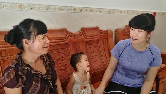 白沙肖白茹:熟知贫困户情况 出实招两年帮4户脱贫