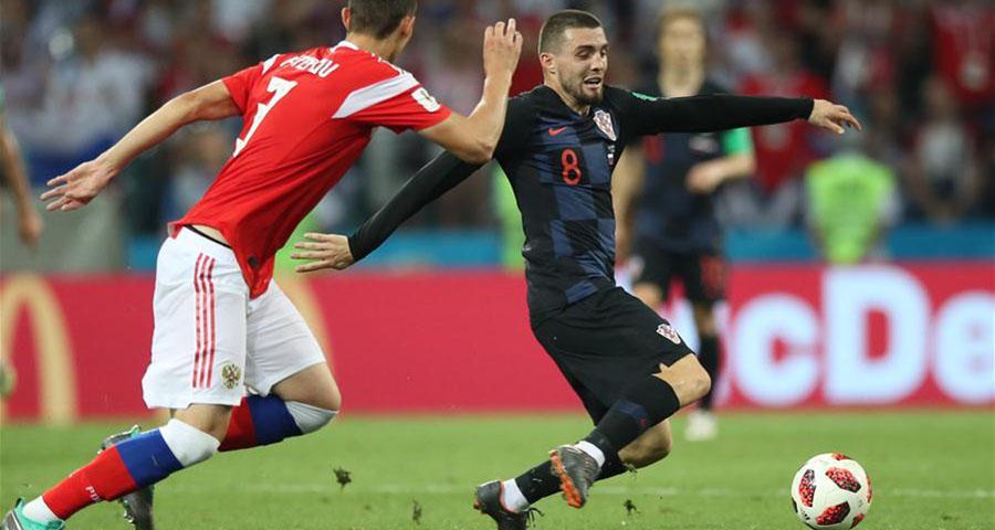 克罗地亚队点球获胜 晋级四强
