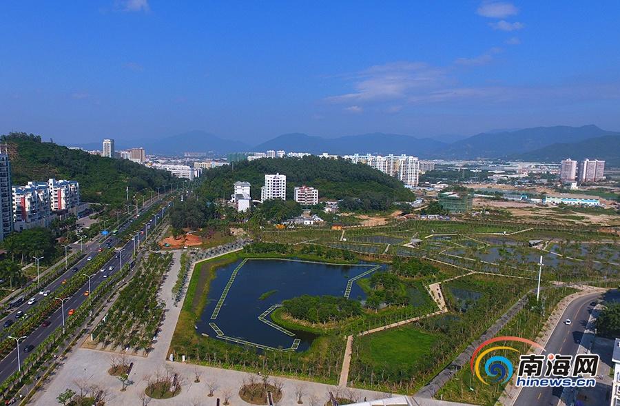 三亚海绵城市建设:让市民收获更多的幸福感