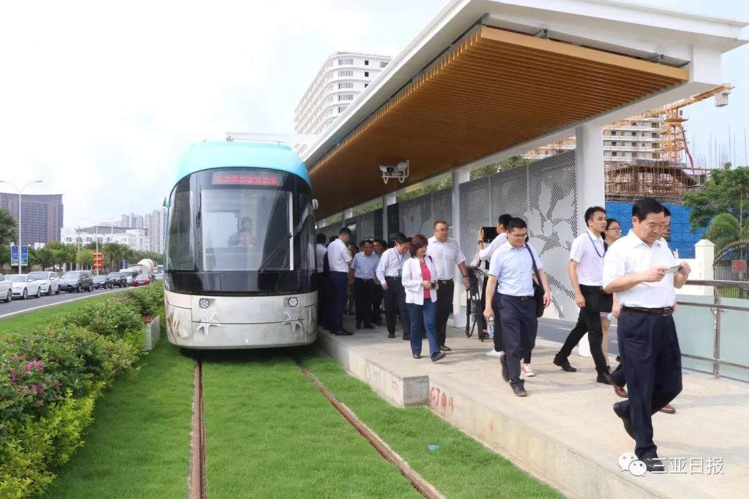 组图 | 三亚有轨电车将试运营 现场乘坐体验是这样的!