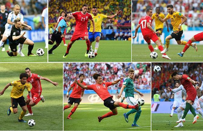 足球――俄罗斯世界杯之最
