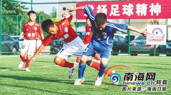 """参加多个比赛、与巴萨教练互动 海南足球小将暑期踢""""嗨""""了"""