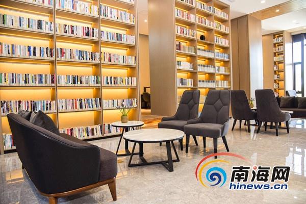 海南省图书馆馆企合作首家分馆落户海口灵山镇