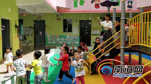 儋州最美教师寻访|幼师朱芬芬:用良心与爱心陪伴孩子