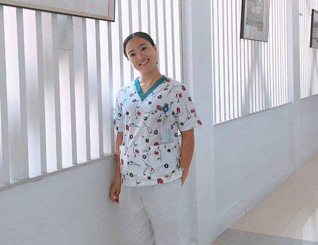 """儋州市人民医院消化内科护士长邱海燕:""""白衣天使是我毕生的梦"""