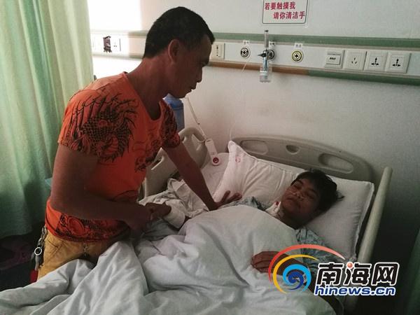 海口一女子患尿毒症治疗7年丈夫盼好心人救助
