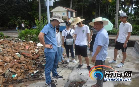 海南大学环境科学专业师生走进琼中 助力乡村生态文明建设