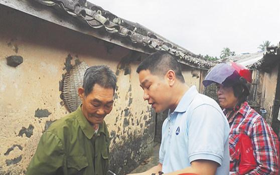 定安大里村驻村第一书记汪伟平带动村民发展产业获赞