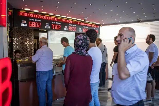 土耳其里拉暴跌:本国人财富急速蒸发 外国游客