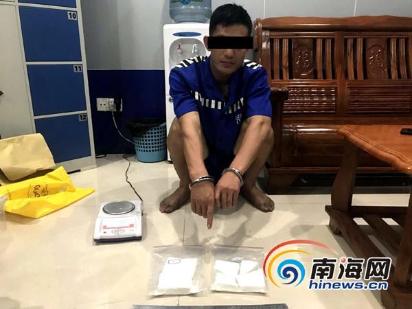 澄迈警方摧毁琼粤贩毒团伙抓获22人毒品混进海鲜运输车夹带过海