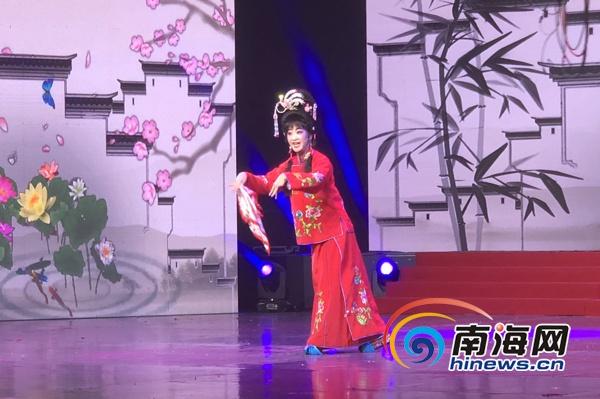 第三届大致坡琼剧文化节暨琼剧唱段总决赛在海口举行