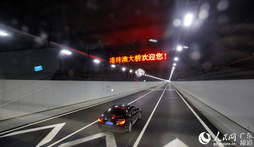 香港海底隧道_海底隧道.张国勤摄