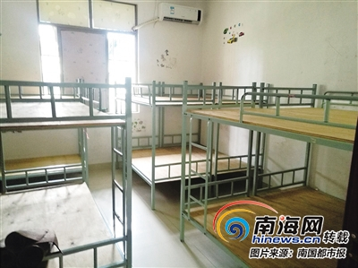 海口学生托管机构乱象是否有所改善10平米房间挤满14张床