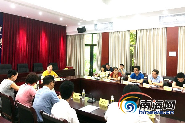 海南省旅游委积极助推旅游商品企业参与旅游扶贫工作