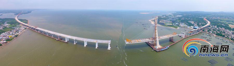 瞰海南| 文昌铺前大桥有望10月合龙 铺前到海口仅20分钟