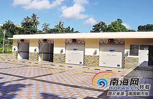 市民海口人民公园智能地下车库15日可恢复使用