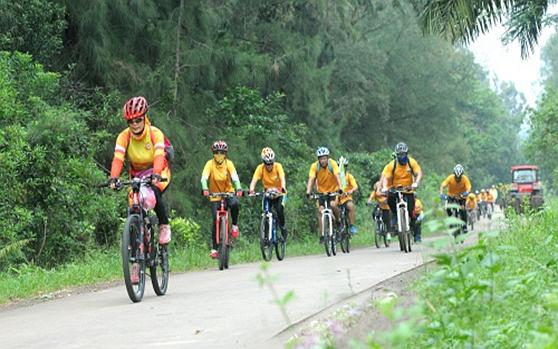 海南美丽乡村绿色骑行活动在澄迈启动 逾200名骑友参加