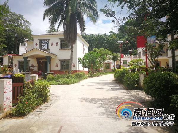 村庄似公园 乐东力争明年底建成97个美丽乡村示范村