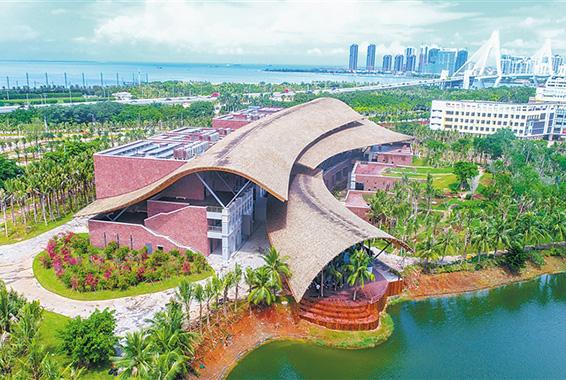 海口市民游客中心基本完工 12345平台等9月底入驻