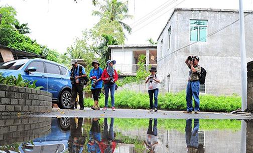 三亚吉阳区摄影大赛采风团深入博后村 聚焦美丽乡村新面貌