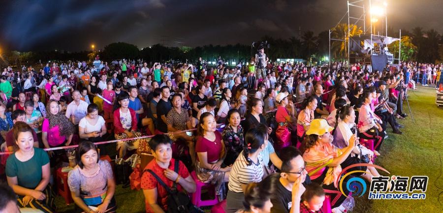 2019海南省文明生态村广场健身操(舞)大赛颁奖晚会在海口举行
