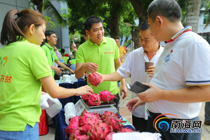 聚焦消费扶贫|海南省委党校举行2019年扶贫爱心集市活动