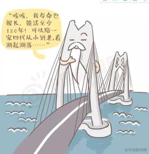 漫画|大家好,我是港珠澳大桥,我有漫画!勾弯话说竖图片