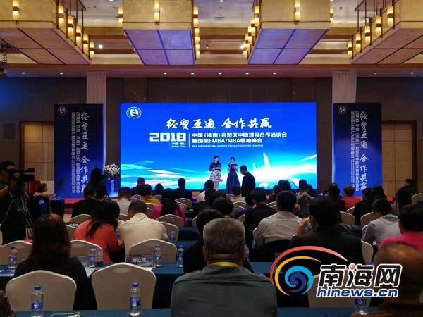 <b>2019中国(海南)自由贸易试验区中欧国际合作洽谈会海口开幕</b>