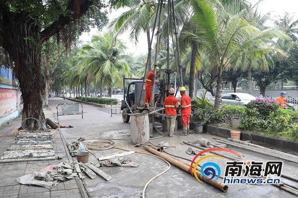 海口市文明东越江通道项目启动全长3公里