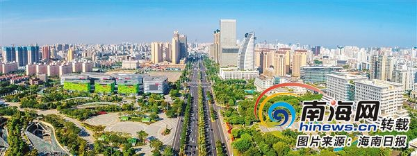 改革开放40年·海南影像:城市变迁