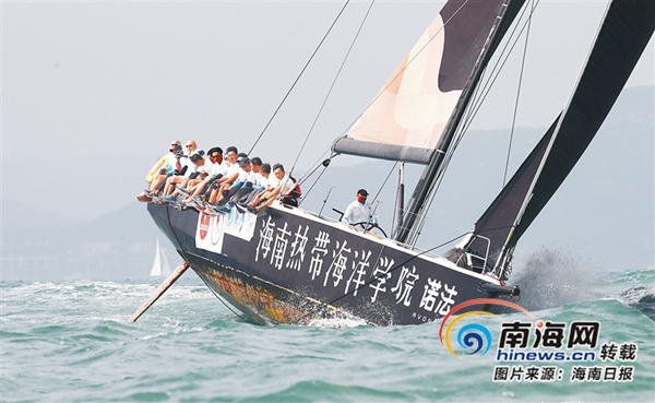 海南周刊|记者手记:我的第一次航海