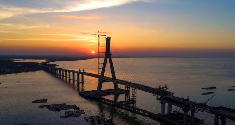 【瞰海南】独家策划| 海南铺前大桥主桥合龙了!盘点海南部分重点项目建设速度