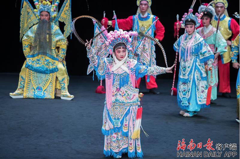 琼剧《百花公主》亮相第八届巴黎中国传统戏剧节