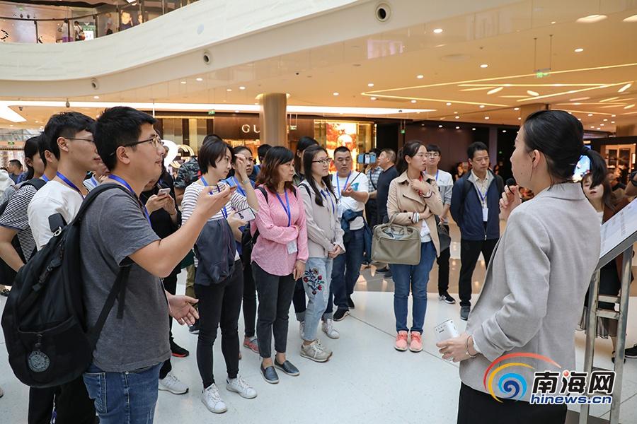 全国网媒探访三亚国际免税城