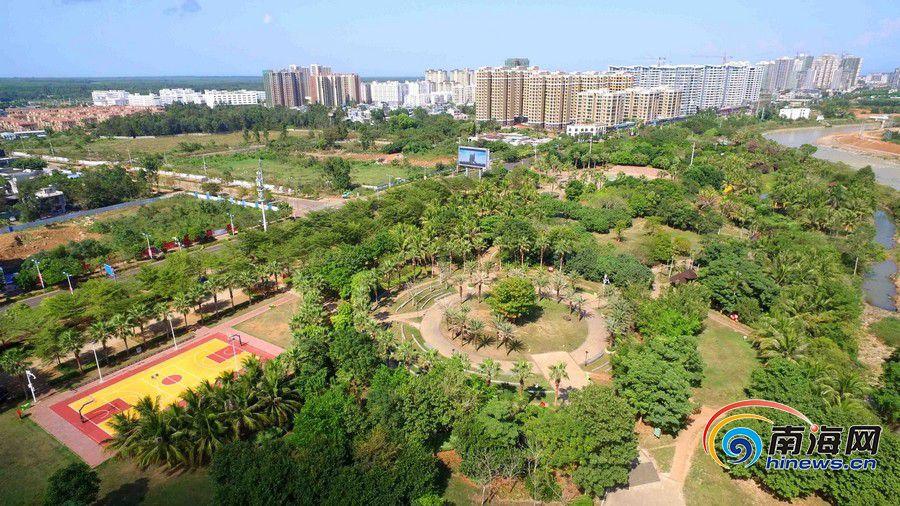 临高增加城乡绿地空间 优化提升环境质量