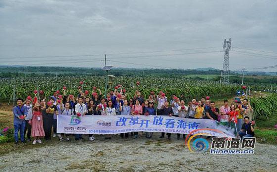 直播 | 北纬18度 全国网媒走进东方热带水果种植天堂