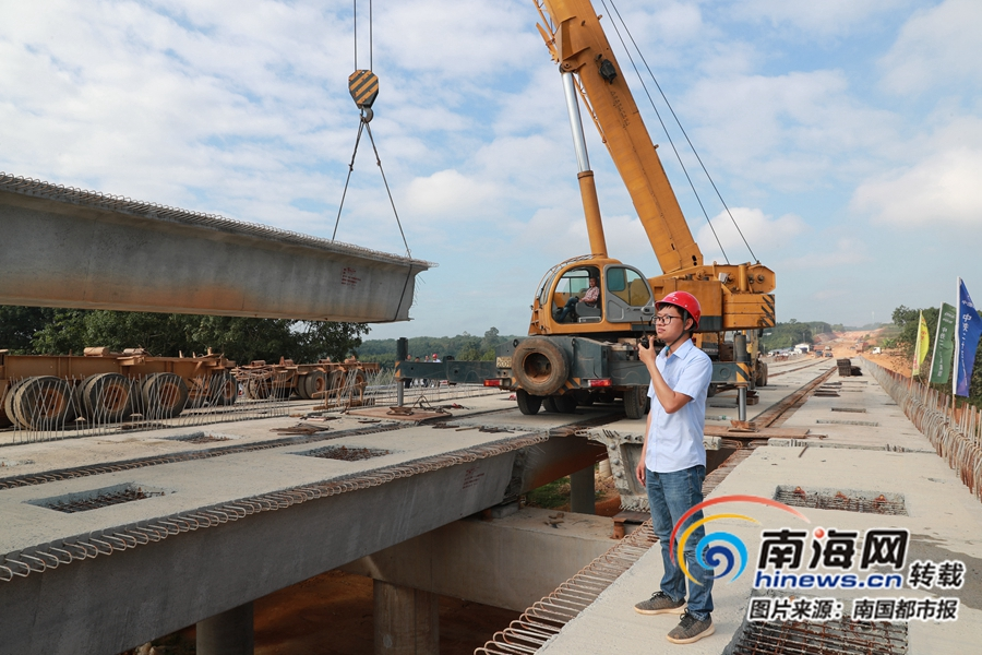 <b>海南万洋高速公路项目第三代建(儋州段)全程贯通</b>