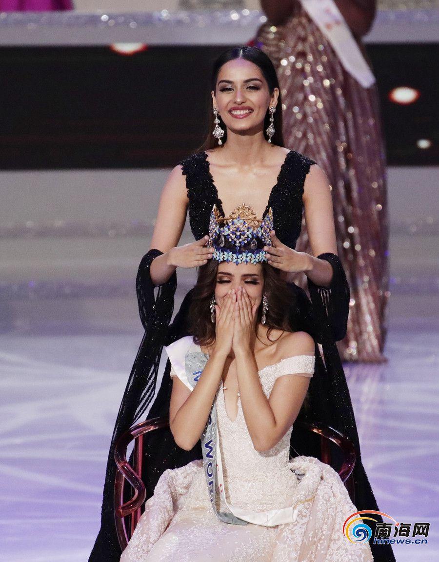 墨西哥选手夺得第68届世界小姐全球总决赛冠军
